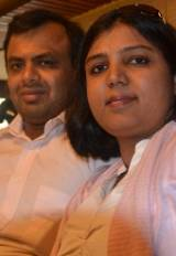 Preethi Nair i Satish Kumar